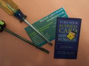 Business Card Screwdriver