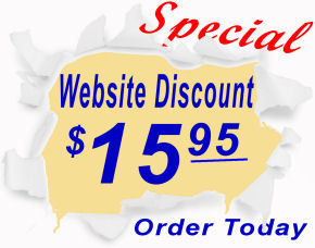 Special website price $15.95 plus S&H