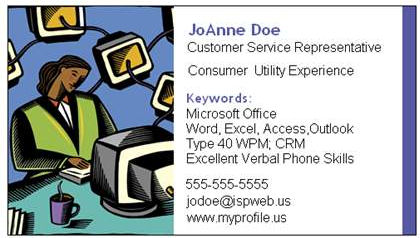 Job Card Example