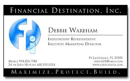 FDI Business Card Example